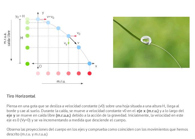 Lanzamiento Horizontal | Fisicalab