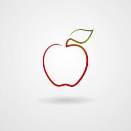 Manzana y gravedad