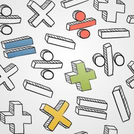 Símbolos matemáticos elementales
