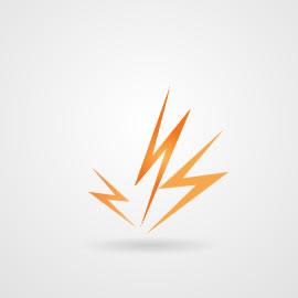 Rayos de electricidad